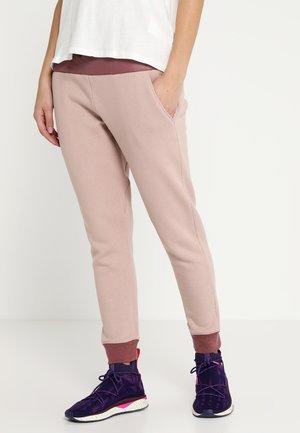 MOONBASE PANT - Spodnie treningowe - rose