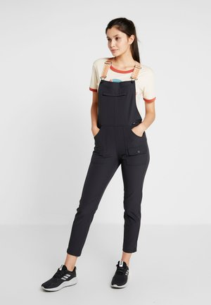 CHASEVIEW OVERALL - Bukse - true black