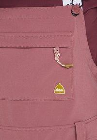 Burton - AVALON BIB - Zimní kalhoty - rose brown - 8