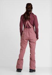 Burton - AVALON BIB - Zimní kalhoty - rose brown - 2