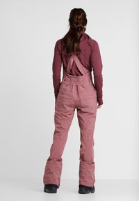 Burton - AVALON BIB - Pantalón de nieve - rose brown - 2