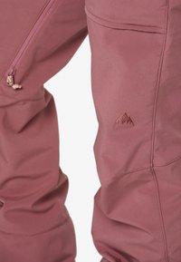 Burton - AVALON BIB - Zimní kalhoty - rose brown - 4