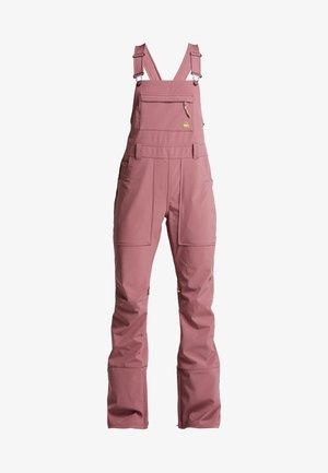 AVALON BIB - Pantalon de ski - rose brown