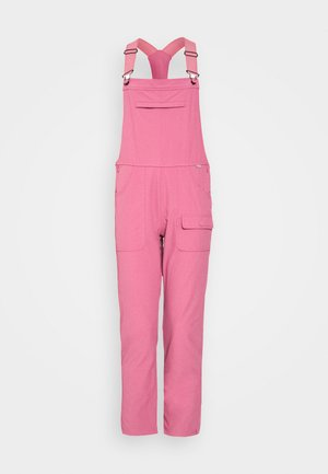 WOMENS CHASEVIEW OVERALL - Pantaloni outdoor - rosebud