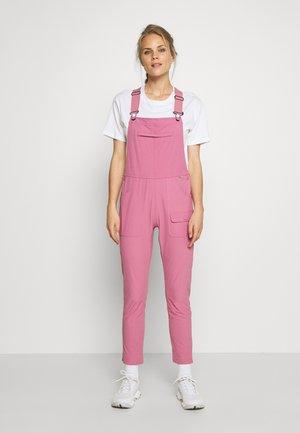 WOMENS CHASEVIEW OVERALL - Pantalones montañeros largos - rosebud