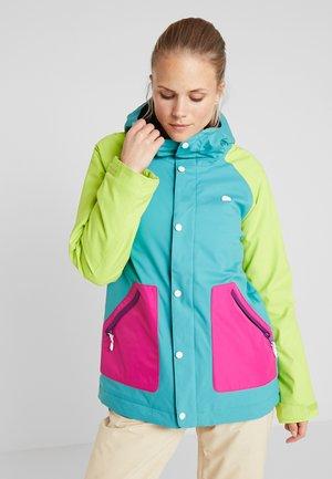CADENCE - Snowboardová bunda - tensho/fuchsi