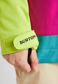 Burton - CADENCE - Giacca da snowboard - tensho/fuchsi - 10