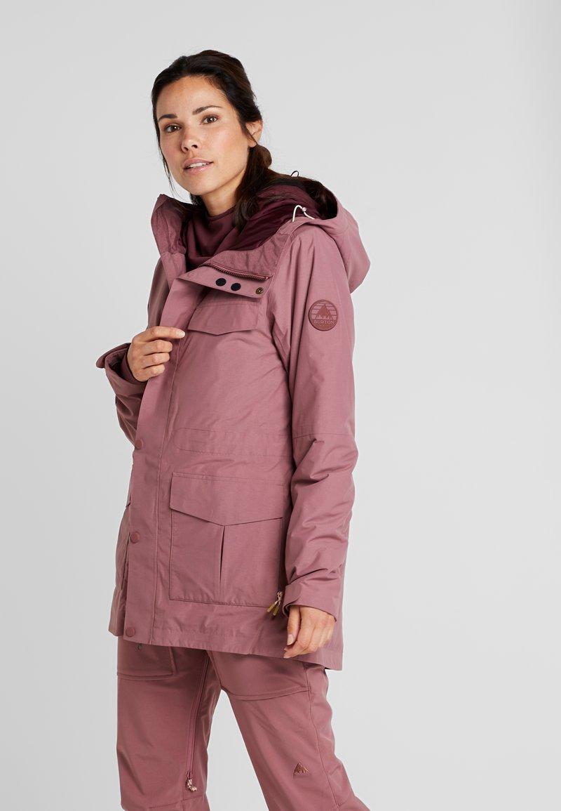 Burton - RUNESTONE - Snowboardjacke - rose brown