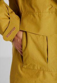 Burton - RUNESTONE - Snowboard jacket - camel - 4