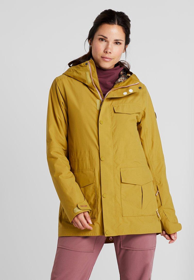 Burton - RUNESTONE - Snowboard jacket - camel