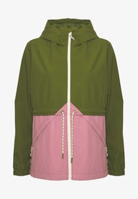 Burton - WOMEN'S NARRAWAY JACKET - Impermeable - pesto green/rosebud - 4