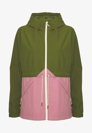 WOMEN'S NARRAWAY JACKET - Waterproof jacket - pesto green/rosebud