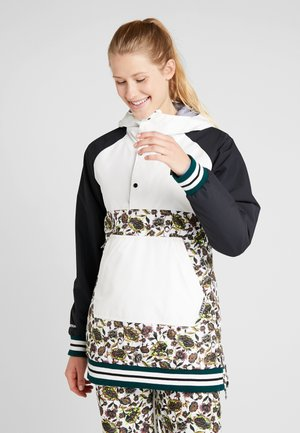 LOYLE ANORAK - Snowboardová bunda - white