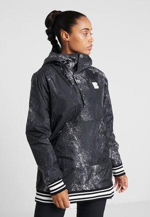 LOYLE ANORAK - Snowboardová bunda - black
