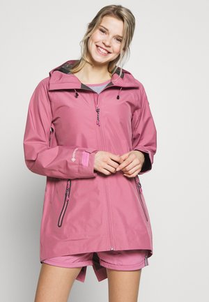 WOMEN'S PACKRITE - Chaqueta Hard shell - rosebud