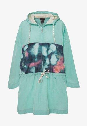 Vodotěsná bunda - turquoise