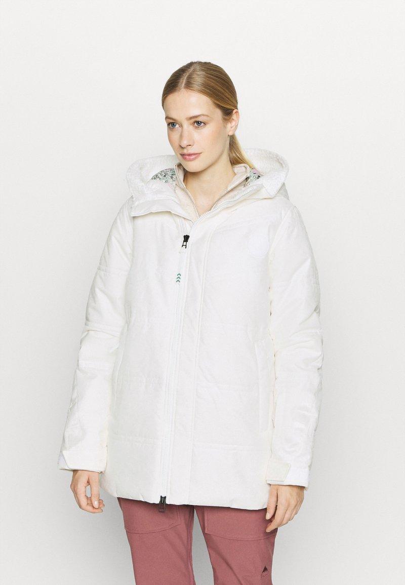 Burton - LAROSA PUFFY  - Snowboard jacket - stout white