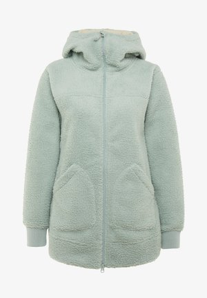 MINXY - Fleecová bunda - aqua gray sherpa