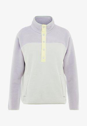 WOMEN'S HEARTH - Fleece trui - lilac/aqua