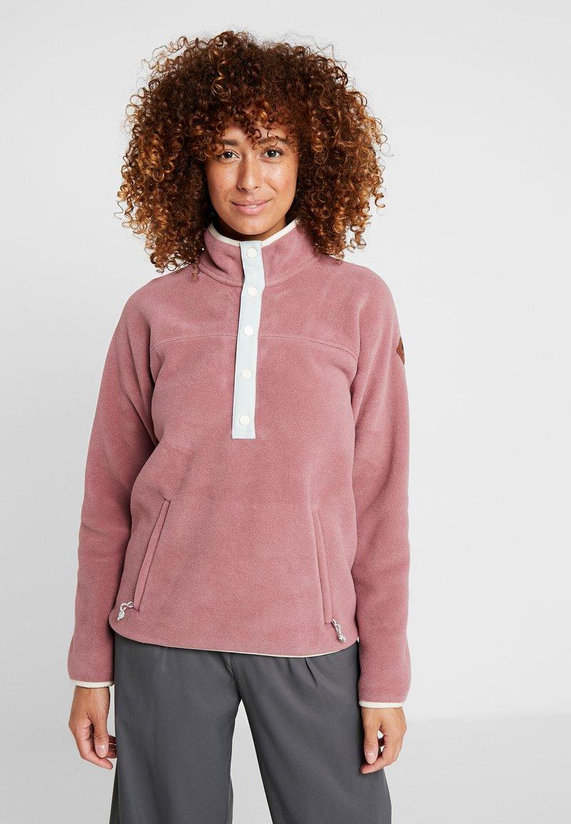Burton - HEARTH  - Fleece jumper - rose brown