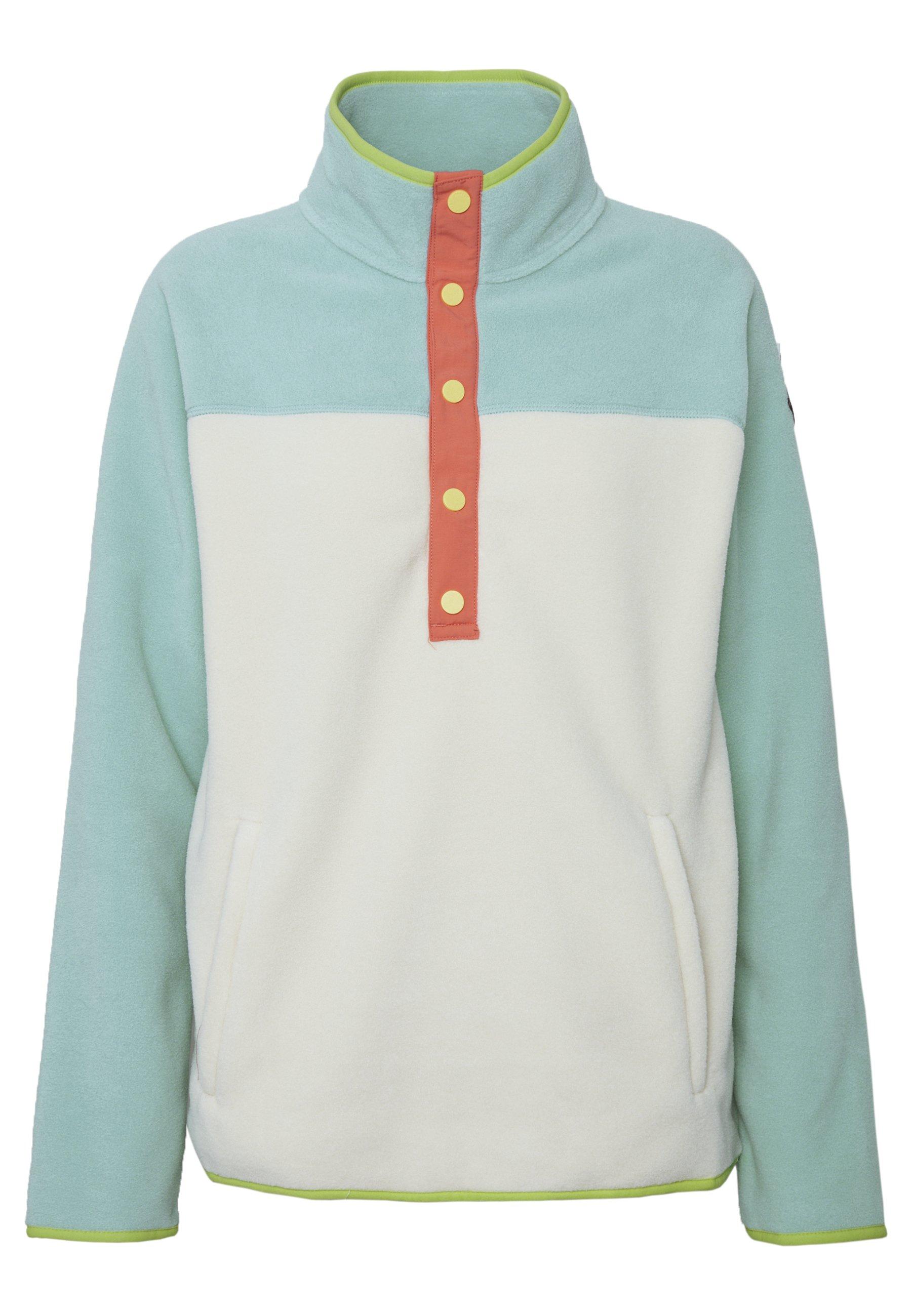 Burton WOMEN'S HEARTH - Bluza z polaru - buoy blue/creme brulee