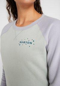Burton - KEELER CREW - Bluza - aqua/lilac - 5