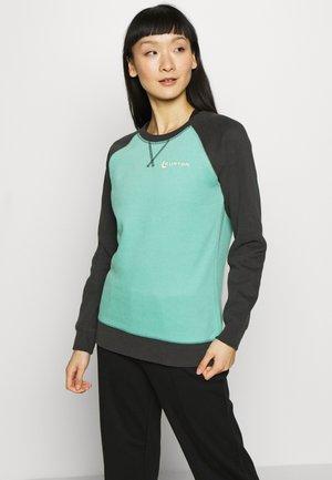KEELER CREW - Sweatshirt - buoy blue/phantom