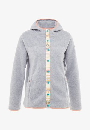 HEARTH  SNAP - Fleecejacke - gray heather
