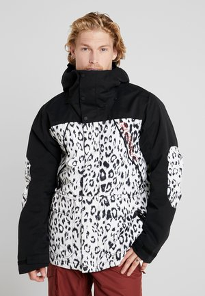 BREACH - Chaqueta de snowboard - black