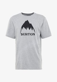 Burton - CLASSIC MOUNTAIN HIGH - T-shirts med print - gray heather - 4