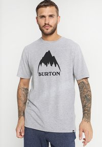Burton - CLASSIC MOUNTAIN HIGH - T-shirts med print - gray heather - 0