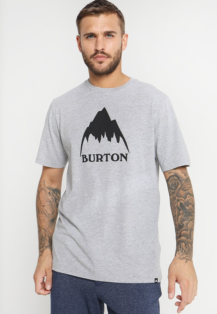 Burton - CLASSIC MOUNTAIN HIGH - T-shirts med print - gray heather