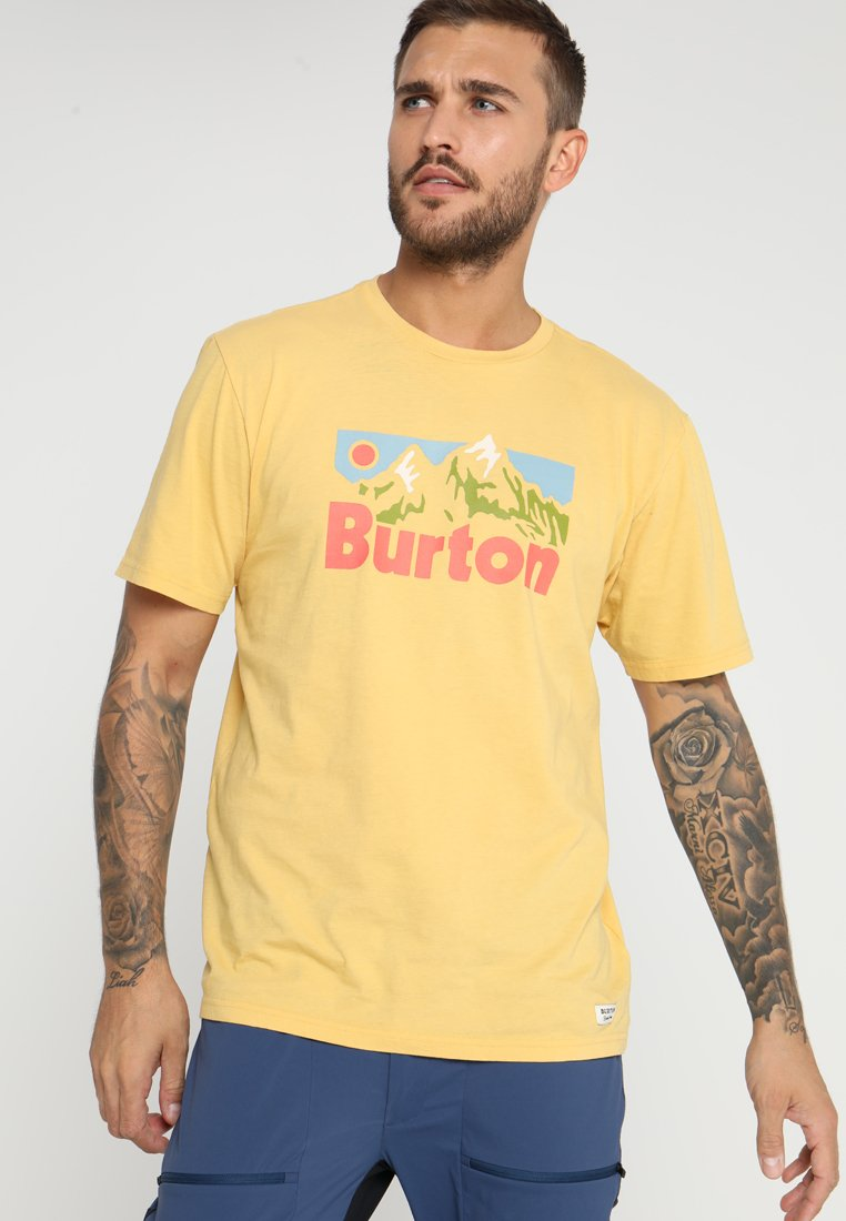 Burton - FRISTON  - Print T-shirt - ochre