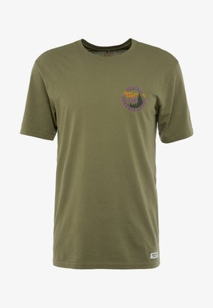 MILL POND  - Print T-shirt - martini olive