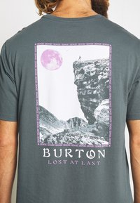 Burton - MEN'S INKWOOD SHORT SLEEVE - T-shirts med print - dark slate - 3