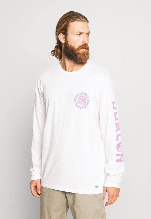 MENS CERRADOS LONG SLEEVE  - Långärmad tröja - stout white