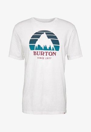 MEN'S UNDERHILL SHORT SLEEVE - Camiseta estampada - white