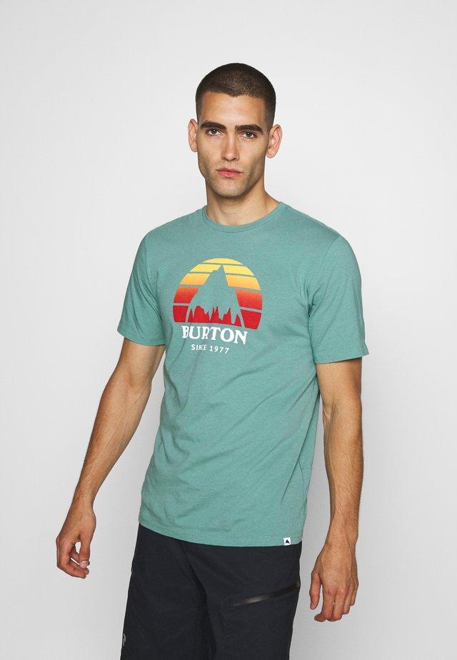 UNDERHILL TRELLIS - T-shirt imprimé - trellis