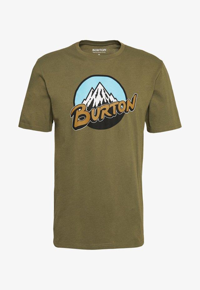RETRO  - T-Shirt print - martini olive