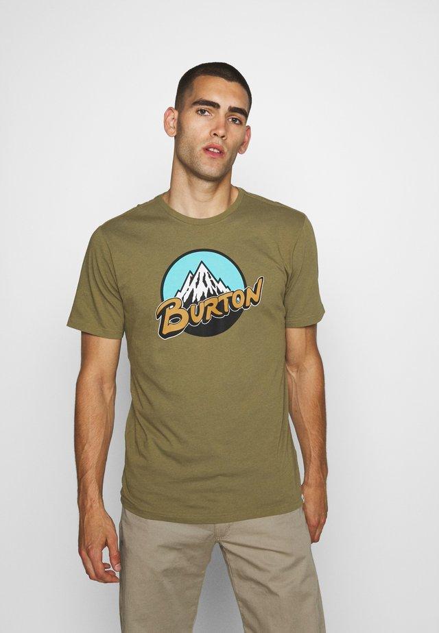 RETRO  - T-shirt z nadrukiem - martini olive