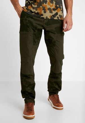 RIDGE CARGO PANT - Broek - dark green