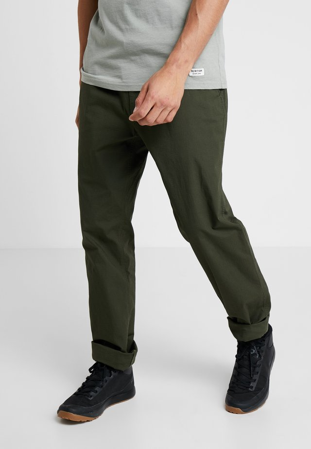 PANT - Broek - forest night