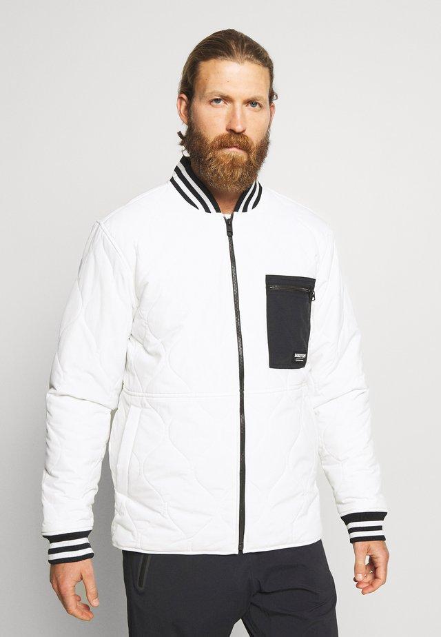 MALLET - Outdoorjacka - stout white
