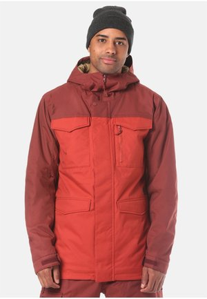 COVERT - Snowboardjas - red
