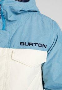 Burton - COVERT - Snowboard jacket - off-white - 9
