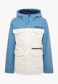 Burton - COVERT - Snowboard jacket - off-white - 8