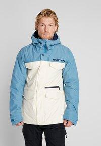 Burton - COVERT - Snowboard jacket - off-white - 0