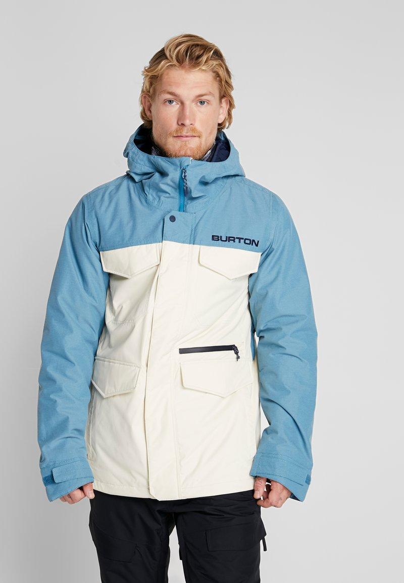 Burton - COVERT - Snowboard jacket - off-white