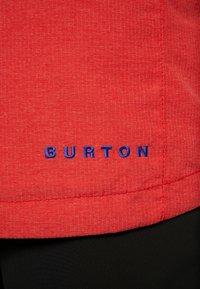 Burton - COVERT - Snowboard jacket - flame scarlet - 8