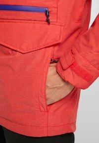 Burton - COVERT - Snowboard jacket - flame scarlet - 4